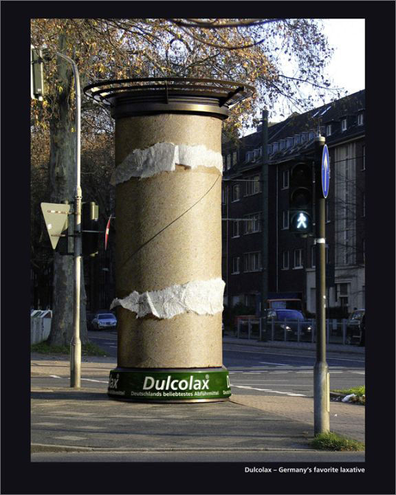 dulcolax street marketing