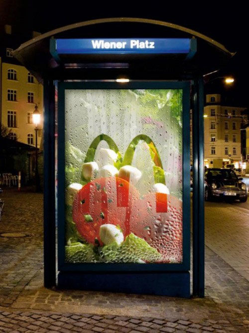 macdonald's street marketing