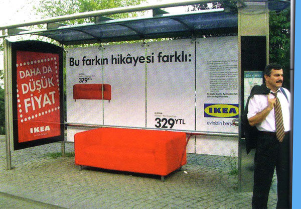 ikea street marketing