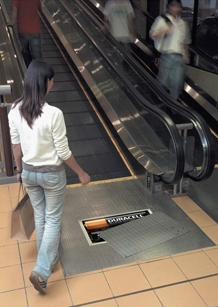 duracell street marketing