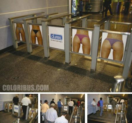 durex street marketing