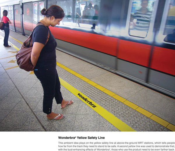 wonderbra street marketing