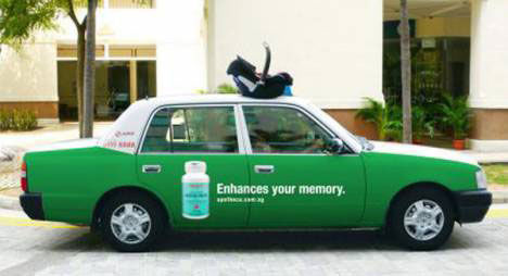 enhance your memory street marketing