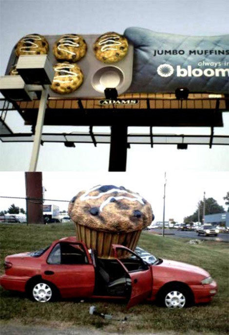 jumbo muffin street marketing