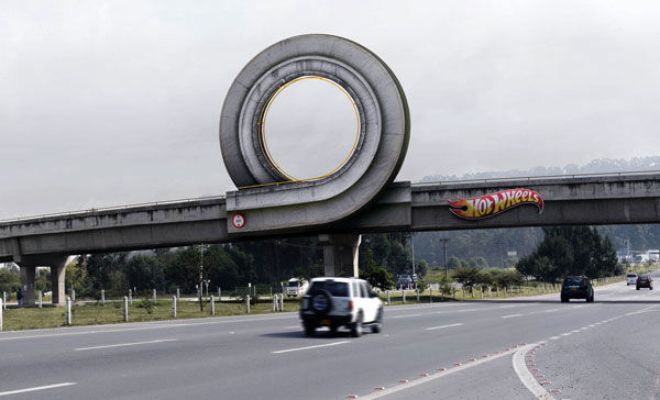 hot wheels street marketing