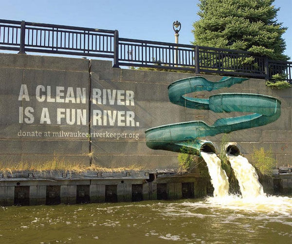 milwaukeeriverkeeper street marketing