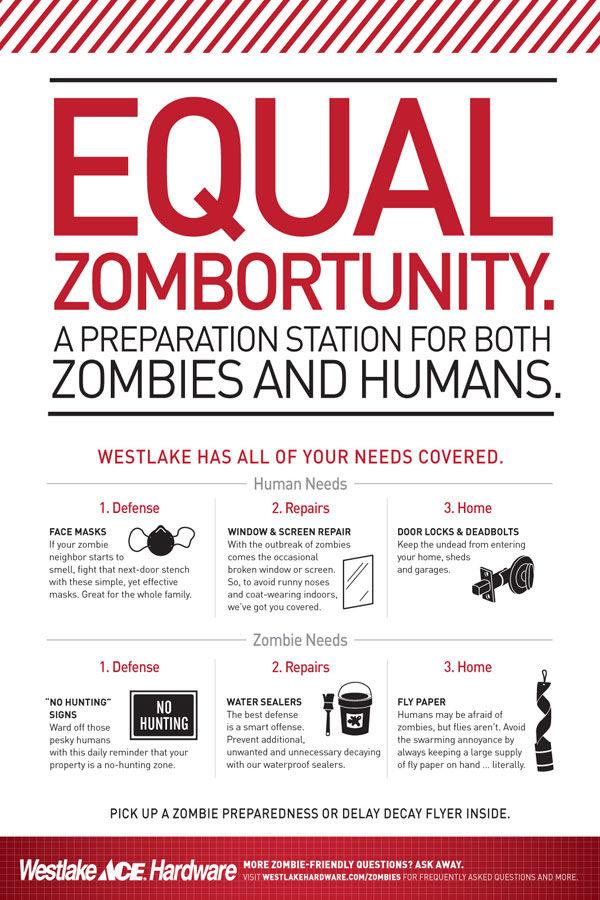 publicité zombies westlake