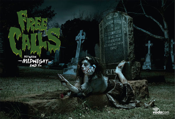 publicité zombies vodacom
