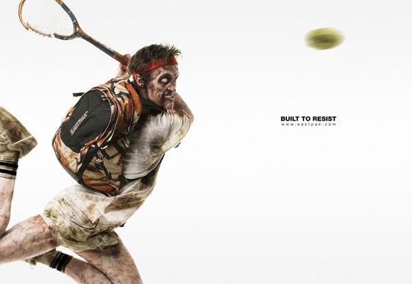 publicité zombies eastpak