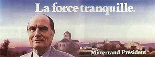 affiche présidentielle 1981 Mitterrand
