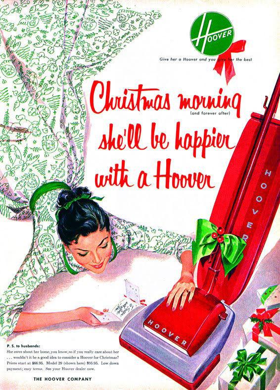 publicité sexiste hoover 1960