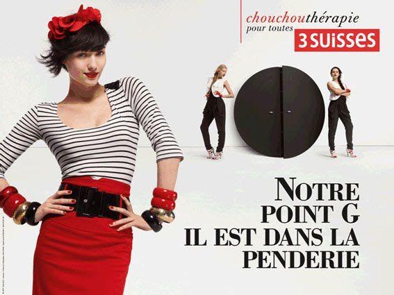 pub sexiste 3 suisses