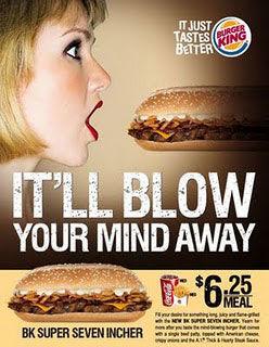 pub sexiste burger king