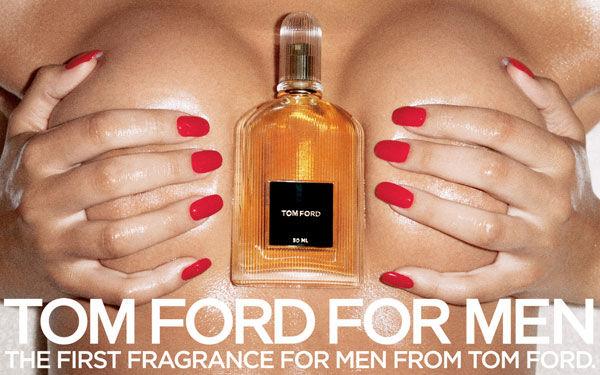 pub sexiste Tom Ford