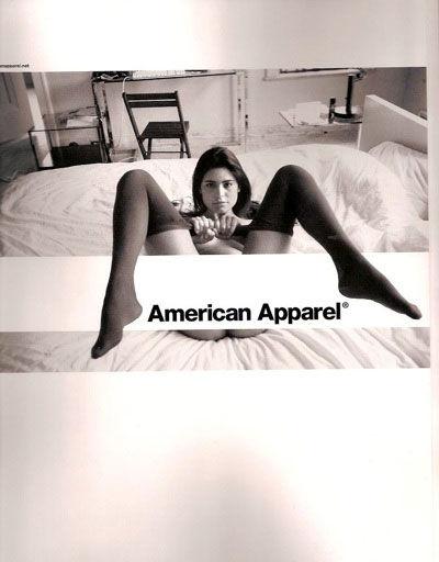 pub sexiste american apparel