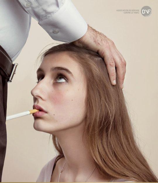 pub consurée défense contre le tabac