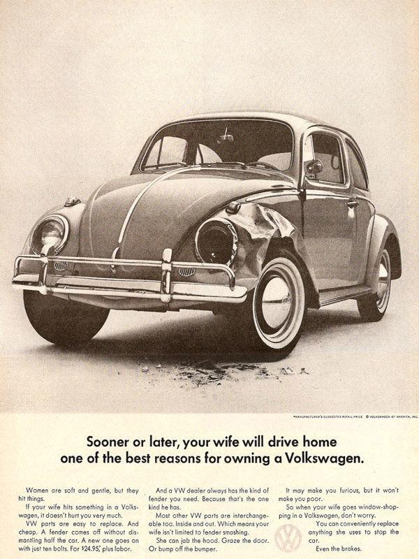 publicité sexiste volkswagen