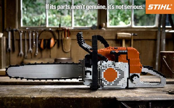 pub lego Stihl Chainsaws