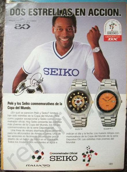 pub seiko Pelé
