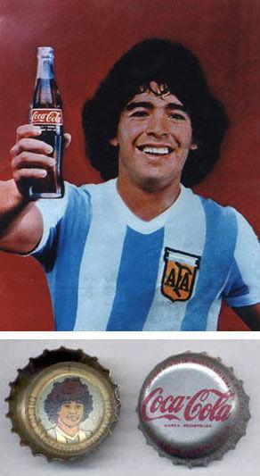 pub maradona Coca-Cola