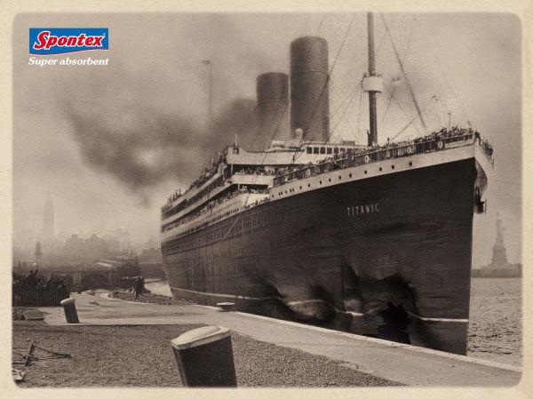 pub Titanic Spontex