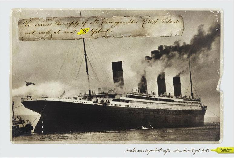 pub Titanic Faber-Castell