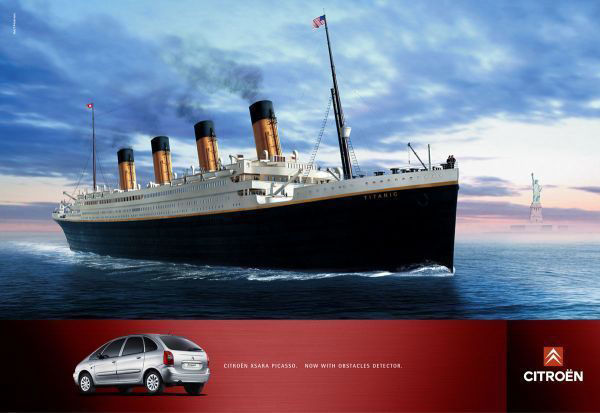 pub Titanic Citroën