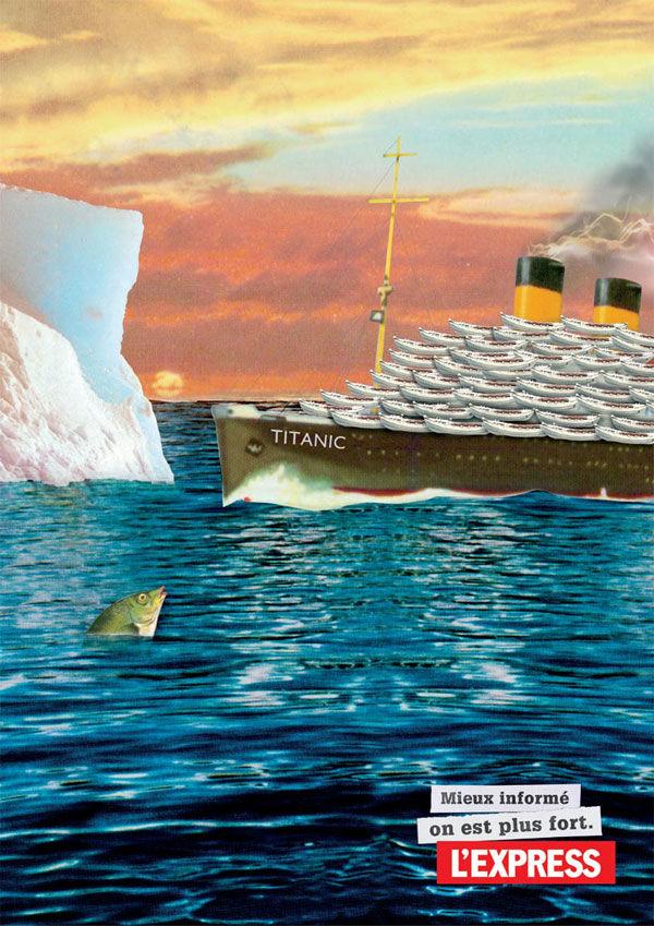 pub Titanic L'Express