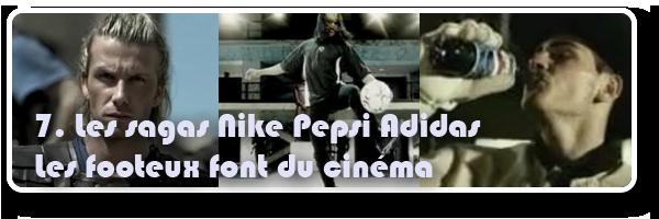 publicités footballeurs cinéma