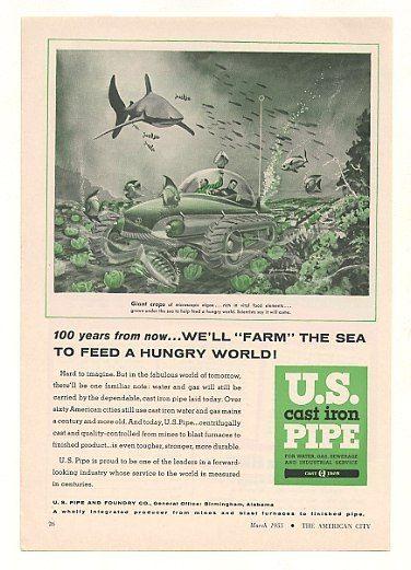 US cast iron pipe 1955