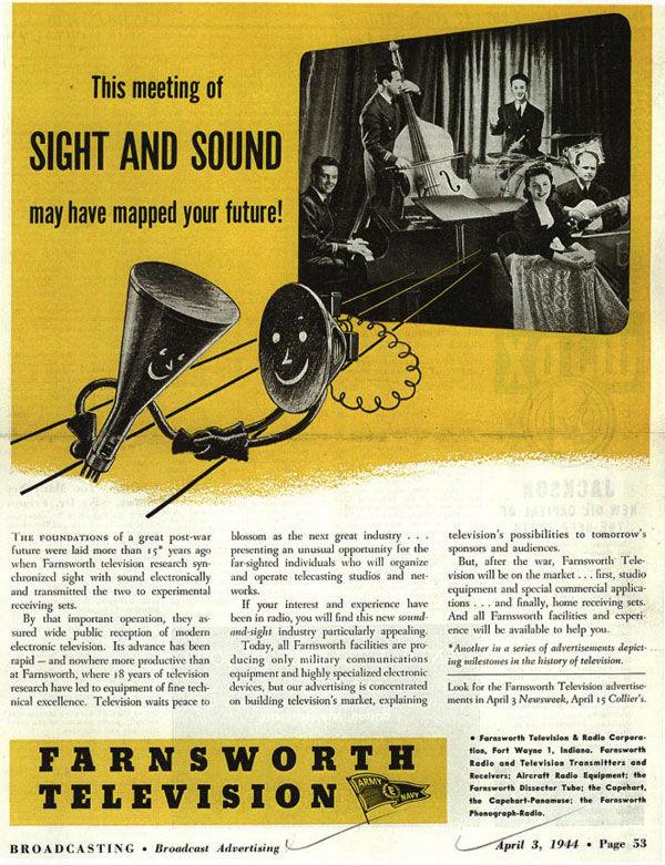 Farnsworth television 1944