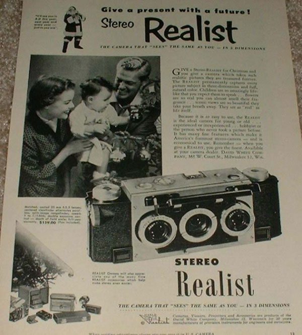 Stereo realist 1953