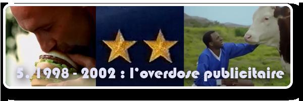 France 98 et les nombreuses publicités dérivées