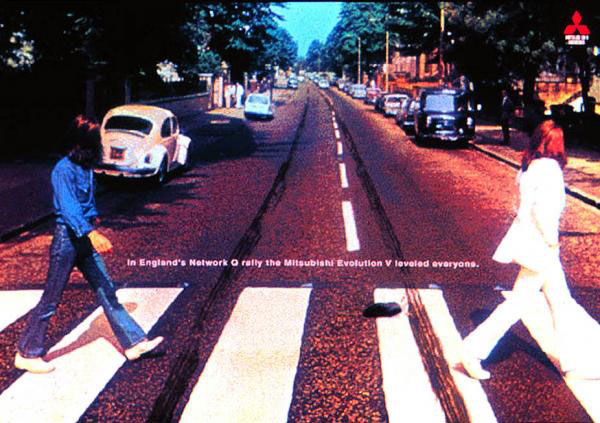 pub beatles abbey road Mitsubishi