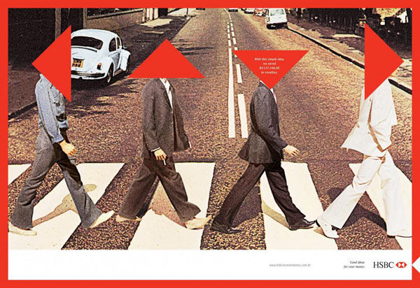 pub beatles Abbey road HSBC