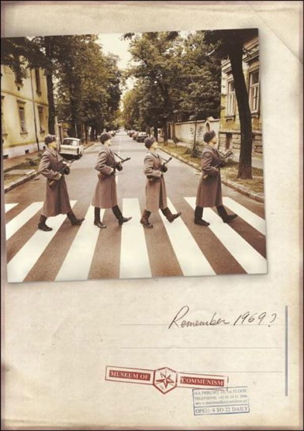 pub beatles Abbey road Musée du communisme