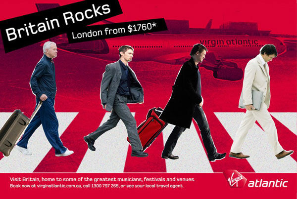 pub beatles Abbey road Virgin Atlantic