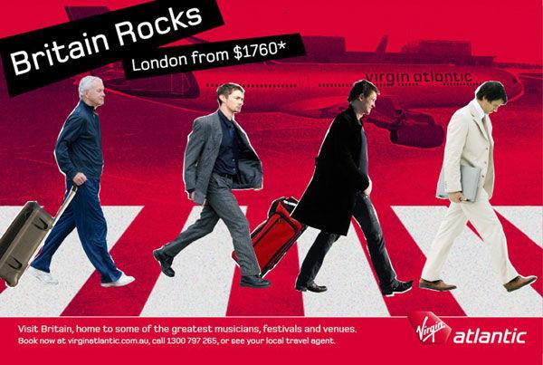 pub beatles Abbey road Virgin Atlantic