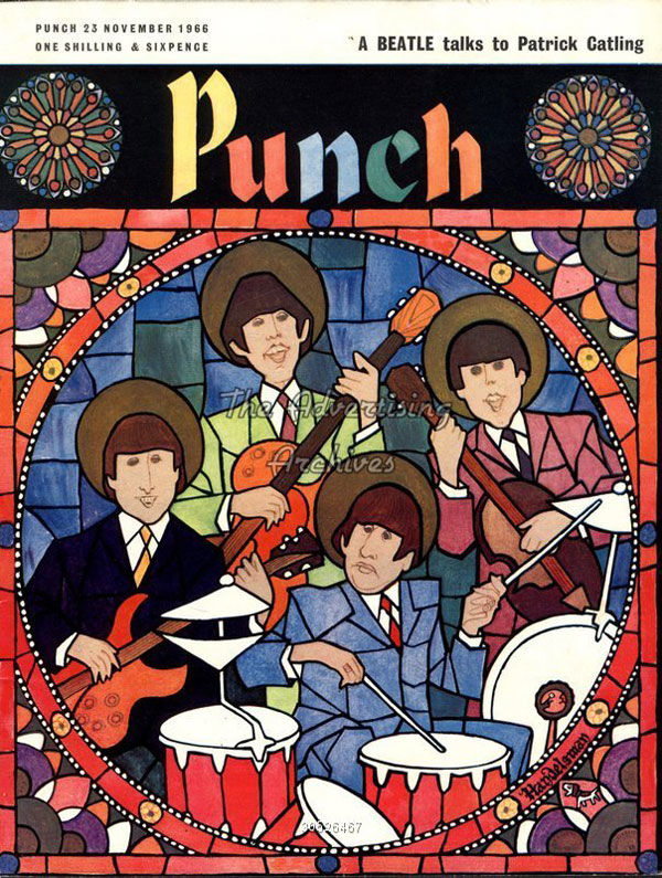 Magazine Punch beatles