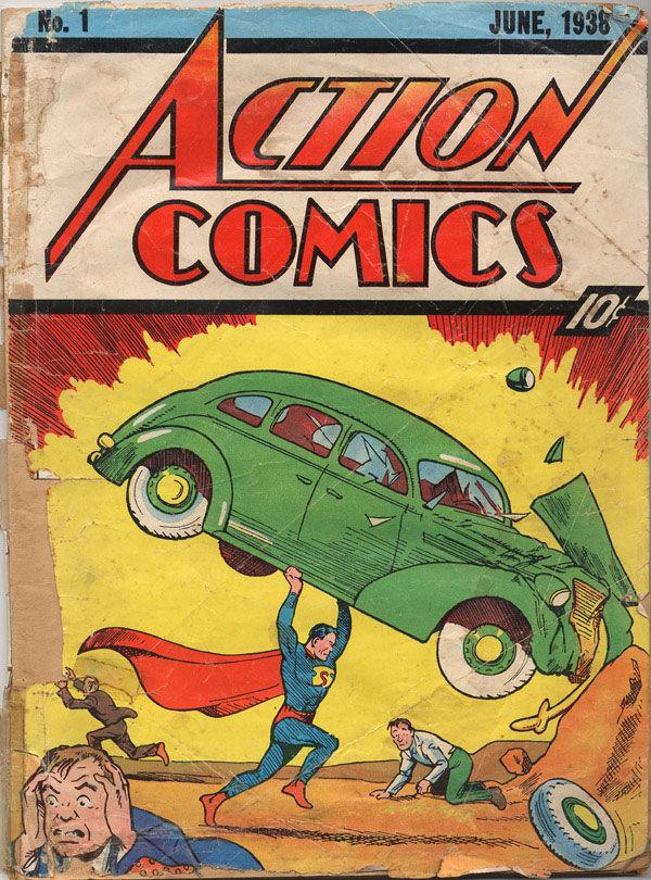 superman n°1 action comics