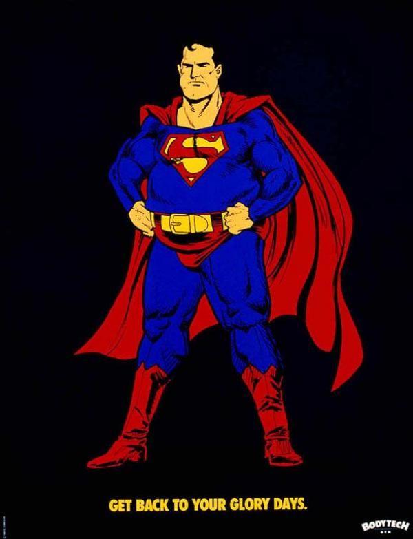 fat superman