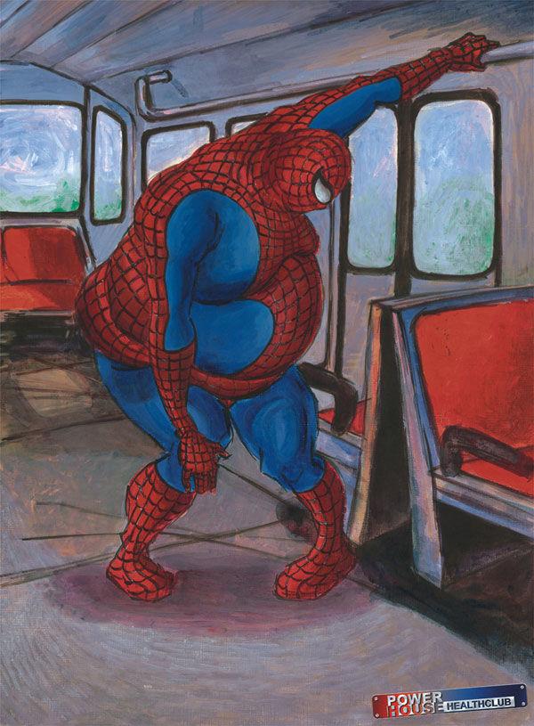 pub super-héros