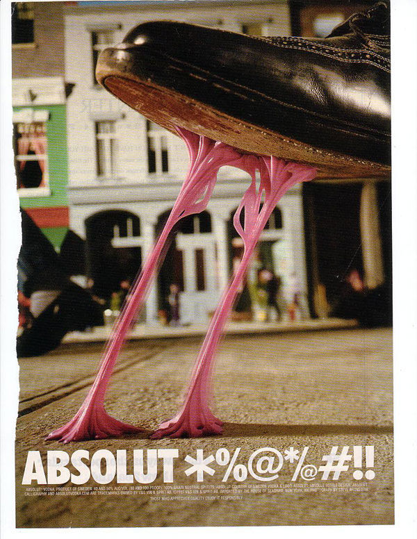 publicité absolut vodka