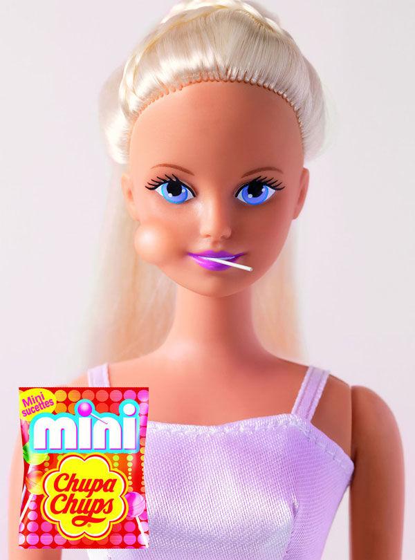 pub barbie Chupa Chups