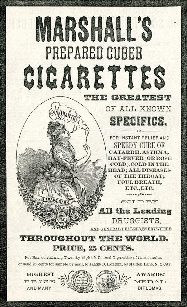 pub cigarette Marshall's