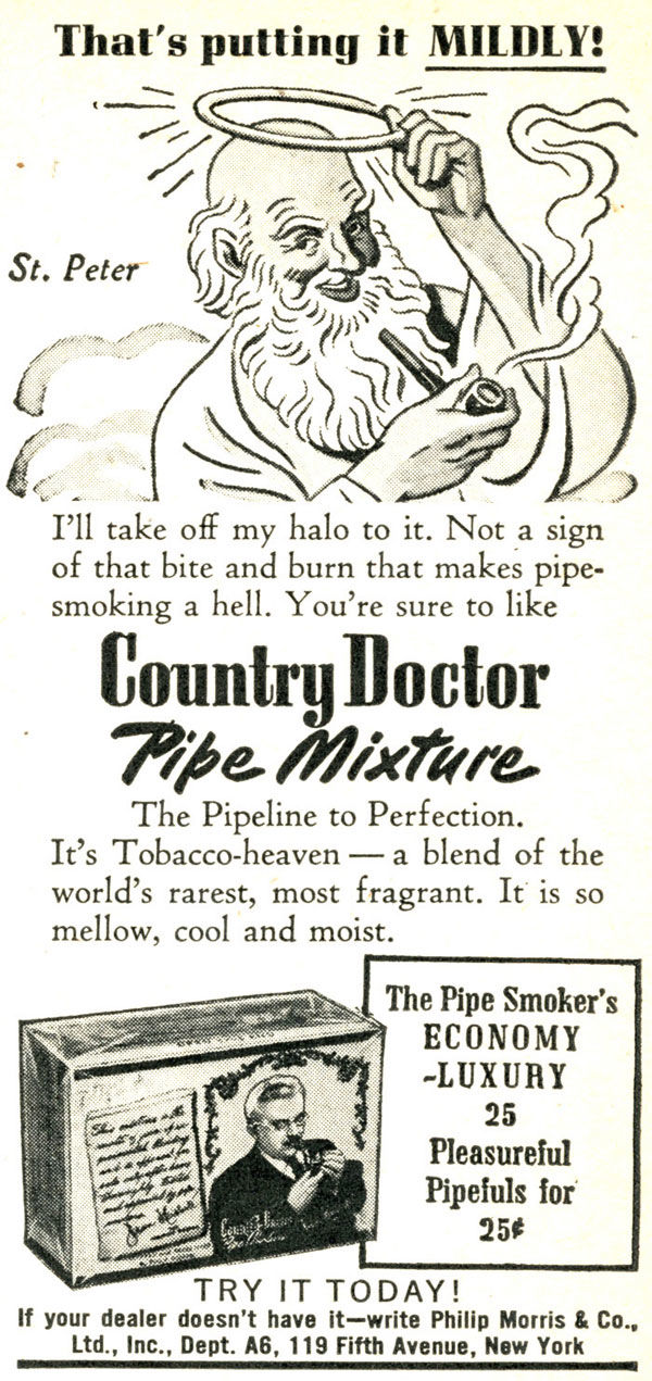 pub cigarette Country Doctor (Philip Morris)