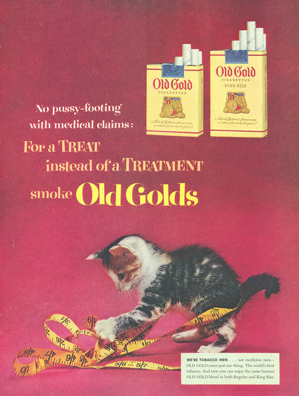pub cigarette Old Gold
