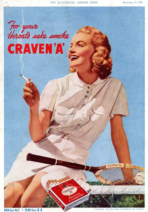 pub cigarette Craven A