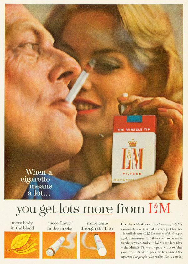 pub cigarette L&M