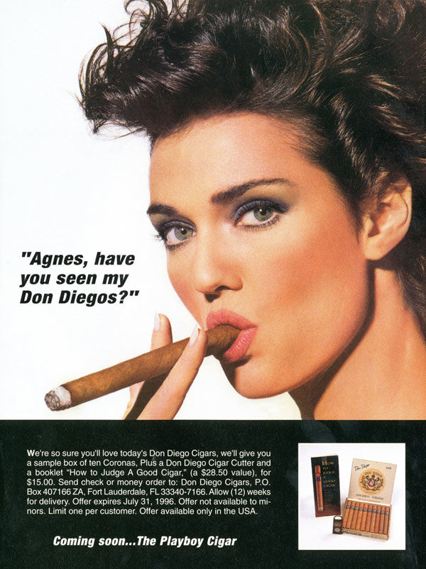 pub cigarette Don Diego Cigars